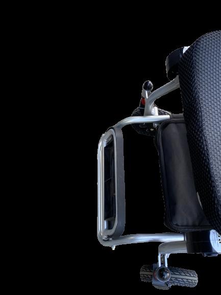 footplate electric wheelchair flip up 4 wheel lightweight