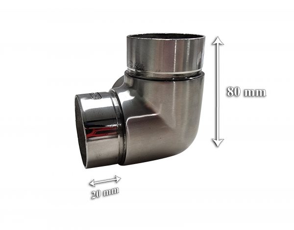 Stainless Steel Curved Elbow Fitting Home Modification