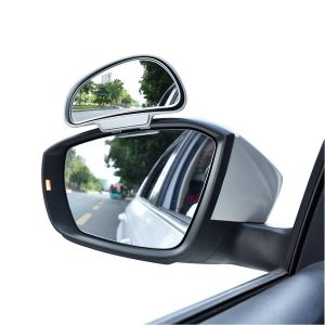 1piece High quality 360 adjustable degree Wide Angle Side Side blind spot car mirror side right hand mirror