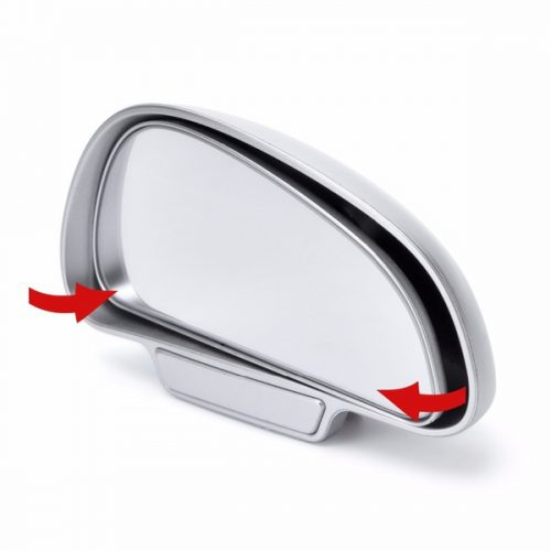 Black Right Hand Sided Blind Spot Adjustable Mirror for Driving Instructors