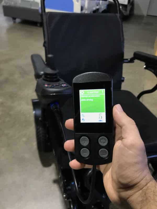 Gilani Engineering Foldable Electric Wheelchair Programmer