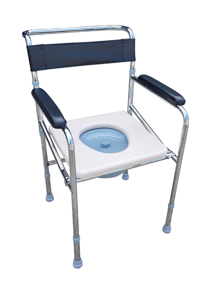 Adjustable Commode Toiletchair for bedroom and bathroom