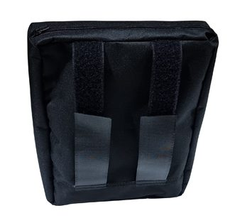 wheelchair Computer storage bag for your tablet, Ipad, Phone, and more. Easy to access attached to your mobility chair