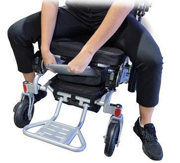 Under Seat Computer Storage Bag Wheelchair Computer Bag