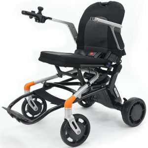 lightweight Power wheelchair with fully backrest folded down electric wheelchair Sydney