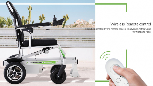Remotely controlled Smart Electric Wheelchair Airwheel H3PC