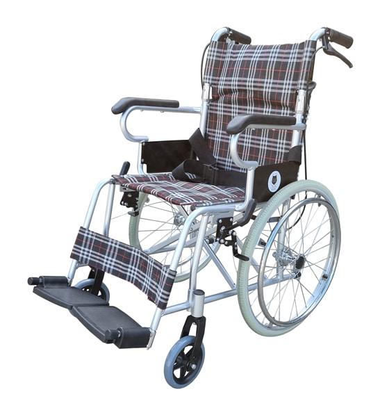Manual wheelchair big wheels self propelled
