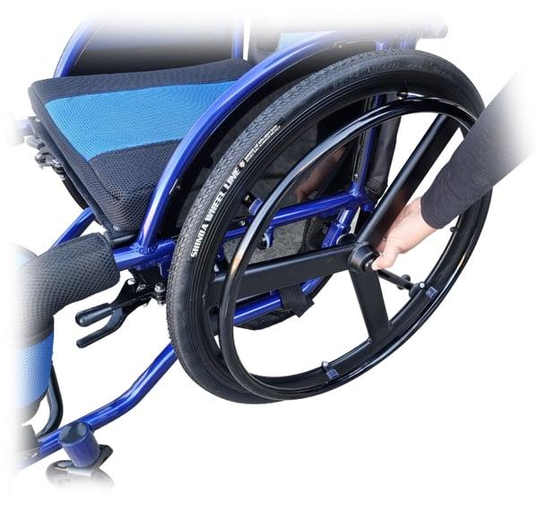 Leisure Manual Super lightweight Wheelchair foldable GILANI ENGINEERING