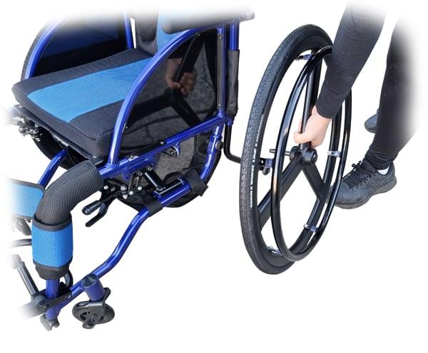 Foldable Manual Wheelchair Lightweight Aluminium Alloy GILANI ENGINEERING