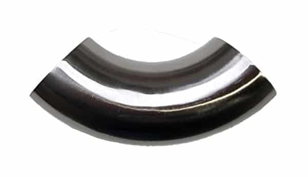 Stainless Steel Curved Angle Grab Rail Connector Joint 38mm Diameter Attachment