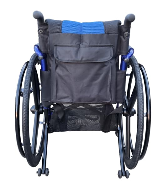 Leisure Lightweight Manual Wheelchair with extra storage GILANI ENGINEERING