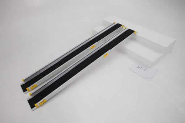 Telescopic wheelchair ramp for Steps portable anti slip ramp foldable heavy duty 300kg weight capacity