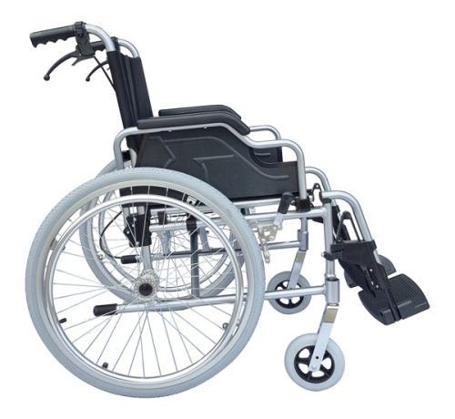 no. 1 best folding wheelchair with foldable footrests