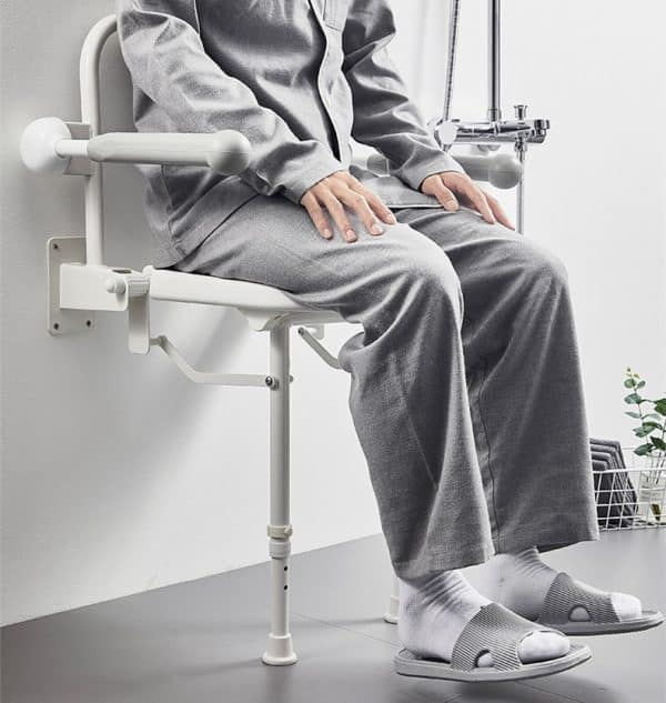 Adjustable Seat Shower Chair from Gilani Engineering disability shop