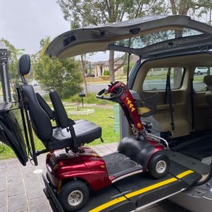 Fiorella Electric Wheelchair Systems lift