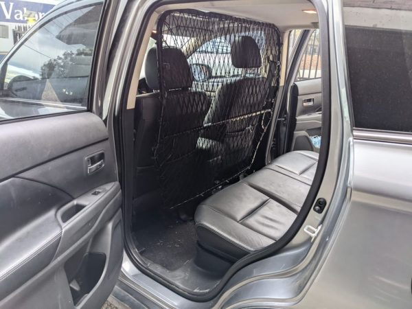 Fully Custom made Cargo Protection Barrier car modification