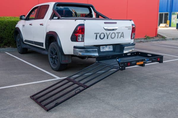 Mobility Scooter Wheelchair Carrier Ramp