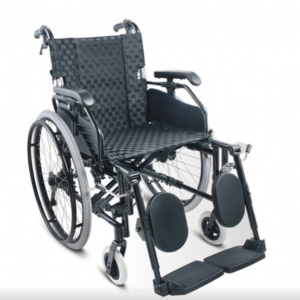 Foldable manual Wheelchair adjustable armrest footrest calf support