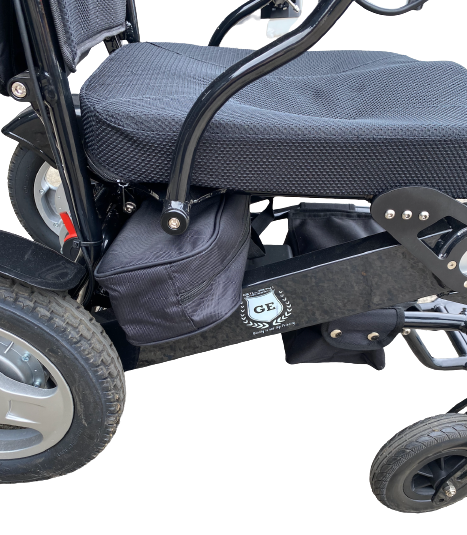 Electric Wheelchair Airhawk and Falcon Battery Pack Carrier