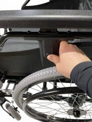 Heavy Duty foldable manual Wheelchair With Adjustable Leg Support -GILANI ENGINEERING