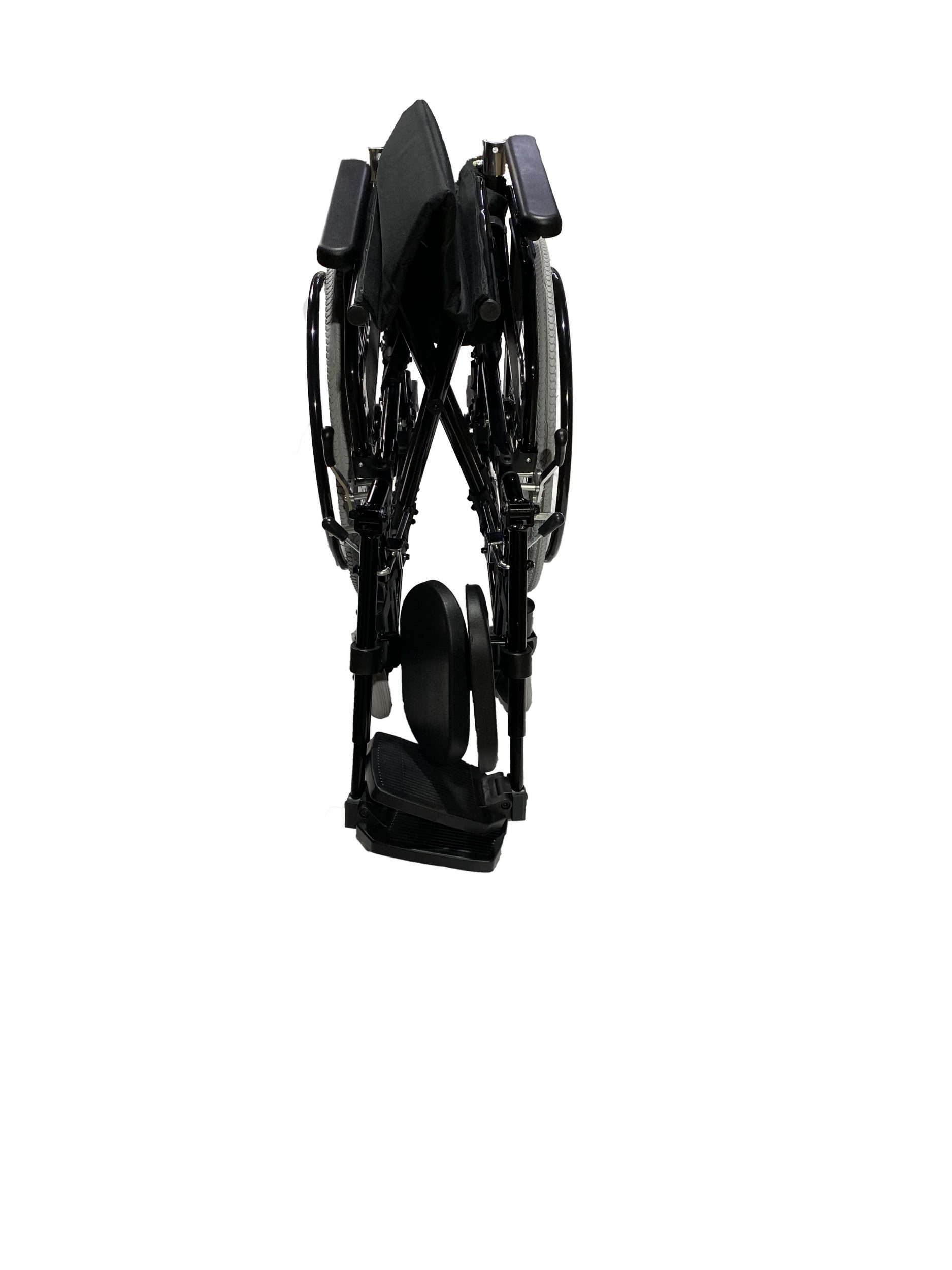 Compact and foldable manual wheelchair