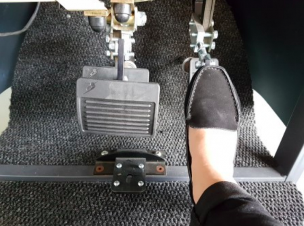 Mini Stamp Pedal Extension NDIS Approved modifications for short people